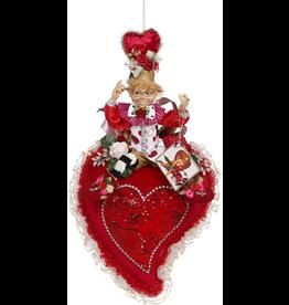 Mark Roberts Fairies Elves Valentines Day Heart W Elfin 27 Inch