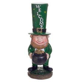 Darice Irish St Patricks Day Leprechaun Mini Figurine 4 Inch Welcome