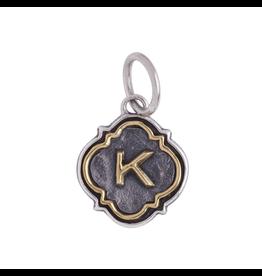 Waxing Poetic® Jewelry Insignia K Charm