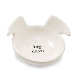 Mud Pie Dog Trinket Dish with Sentiment - Dog Days