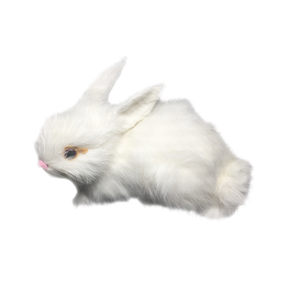 Mark Roberts White Bunny Rabbit Figurine Sitting 3.5x6 inch