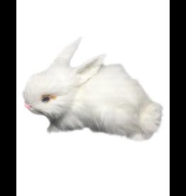 Mark Roberts White Bunny Rabbit Figurine Sitting 3.5x6 inch