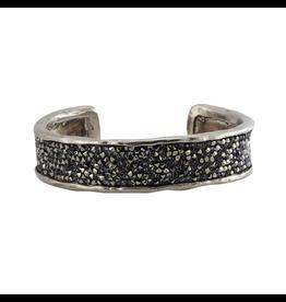 Waxing Poetic® Jewelry Kristal Cuff Bracelet-White Bronze