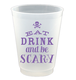 Slant Halloween Frost Flex Cup 16oz 8pk Eat Drink Be Scary