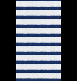 Caspari Paper Guest Towel Napkins 15pk Bretagne Blue