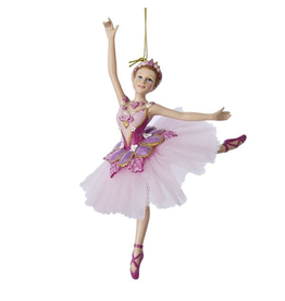 Kurt Adler Sugar Plum Ballerina Ornament Nutcraker Suite Ballet 7 Inch