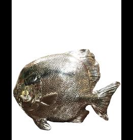 Mark Roberts Home Decor Silvered Sea Fish 10Hx14L inch