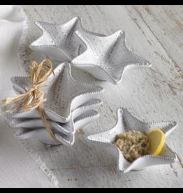 Mud Pie Starfish Mini Dip Cup Set of 3