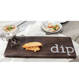 Mud Pie Octopus Dip Board w Metal Dip Inset and Dip Bowl