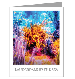 Charles W Lauderdale-By-The-Sea Blank Note Card