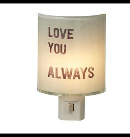 Midwest-CBK Nightlights 121588 Love You Always Night Light