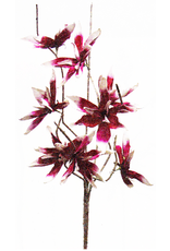 Botanica Stem 109 42 Inch W Pink And White Flowers