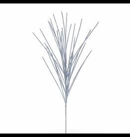 Kurt Adler Silver Beaded Spray 30.7 Inch  Christmas Floral