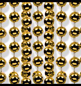Kurt Adler Christmas Garland Shatterproof Gold Bead Garland 18FT Roll 7mm