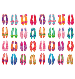 Caspari Mother's Day Card 82429.16 Shoes