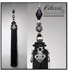 Katherine's Collection Tassels Large Decorative Tassel 23 inches Black