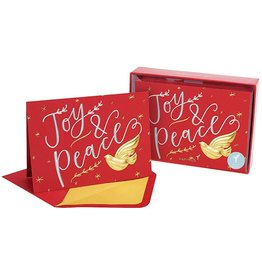 PAPYRUS® Boxed Christmas Cards 12 CT Joy And Peace With Dove