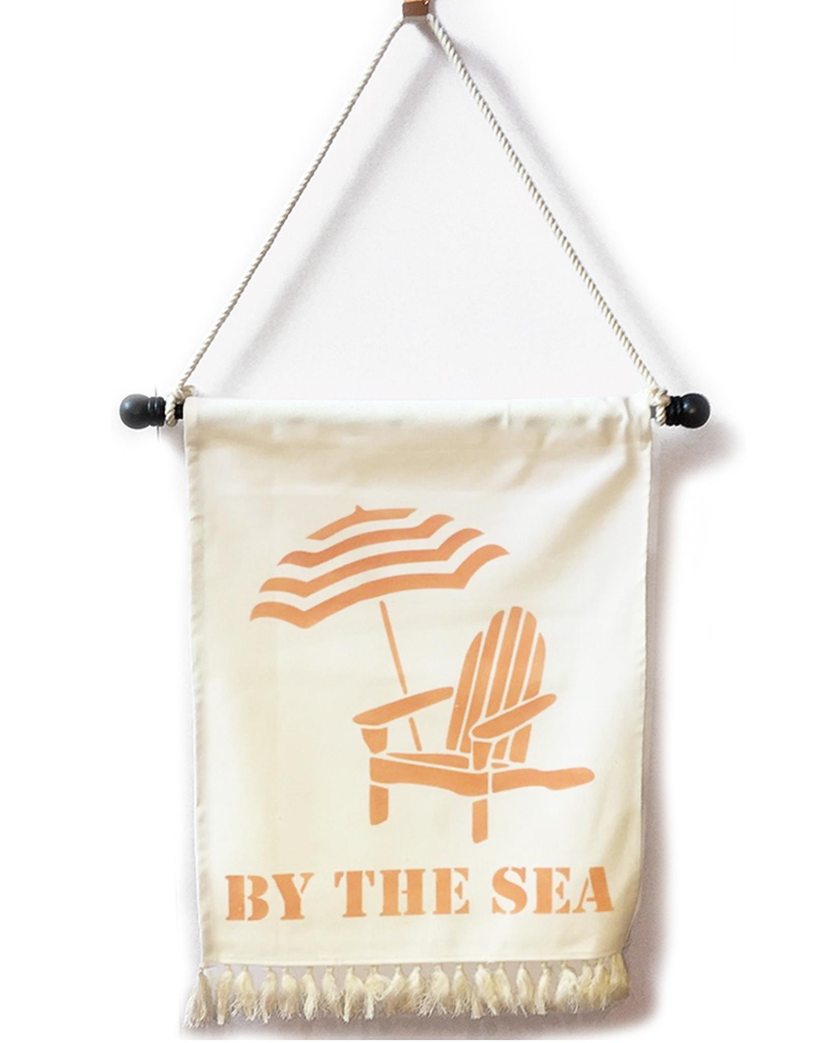 MFH Banner W Tassel Fringe 20x30 By The Sea