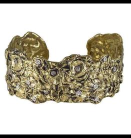 Waxing Poetic® Jewelry Melange Cuff Metamorphosis Brass-Sterling Silver