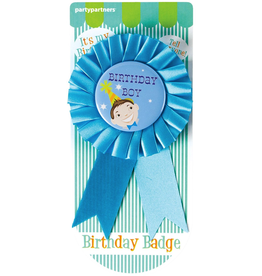 Birthday Guest of Honor Badge Birthday Boy