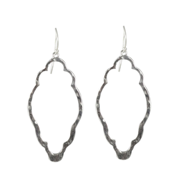 Waxing Poetic® Jewelry Open Up Earrings Clover Sterling Silver