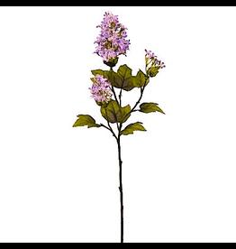 Winward Flowers Floral Lilac Spray Lavender 26 Inch