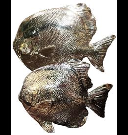 Mark Roberts Home Decor Silvered Sea Fish Set of 2