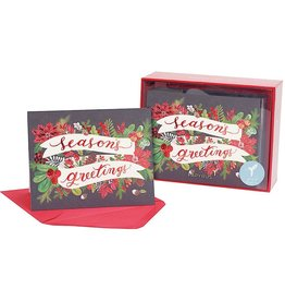 PAPYRUS® Boxed Christmas Cards 20 CT Seasons Greetings