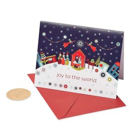 PAPYRUS® Boxed Christmas Cards 20 CT Joy To The World