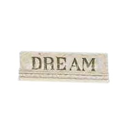 Milestones Dream Shelf Sitter Wall Plaque by Betty Singer