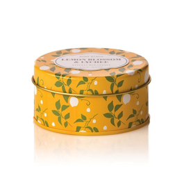 Rosy Rings Soy Candle In Travel Tin 2.75oz Lemon Blossom Lychee