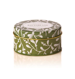 Rosy Rings Soy Candle In Travel Tin 2.75oz Bay Garland