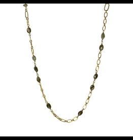 Waxing Poetic® Jewelry Verdi Chain 32 inch Labradorite Brass