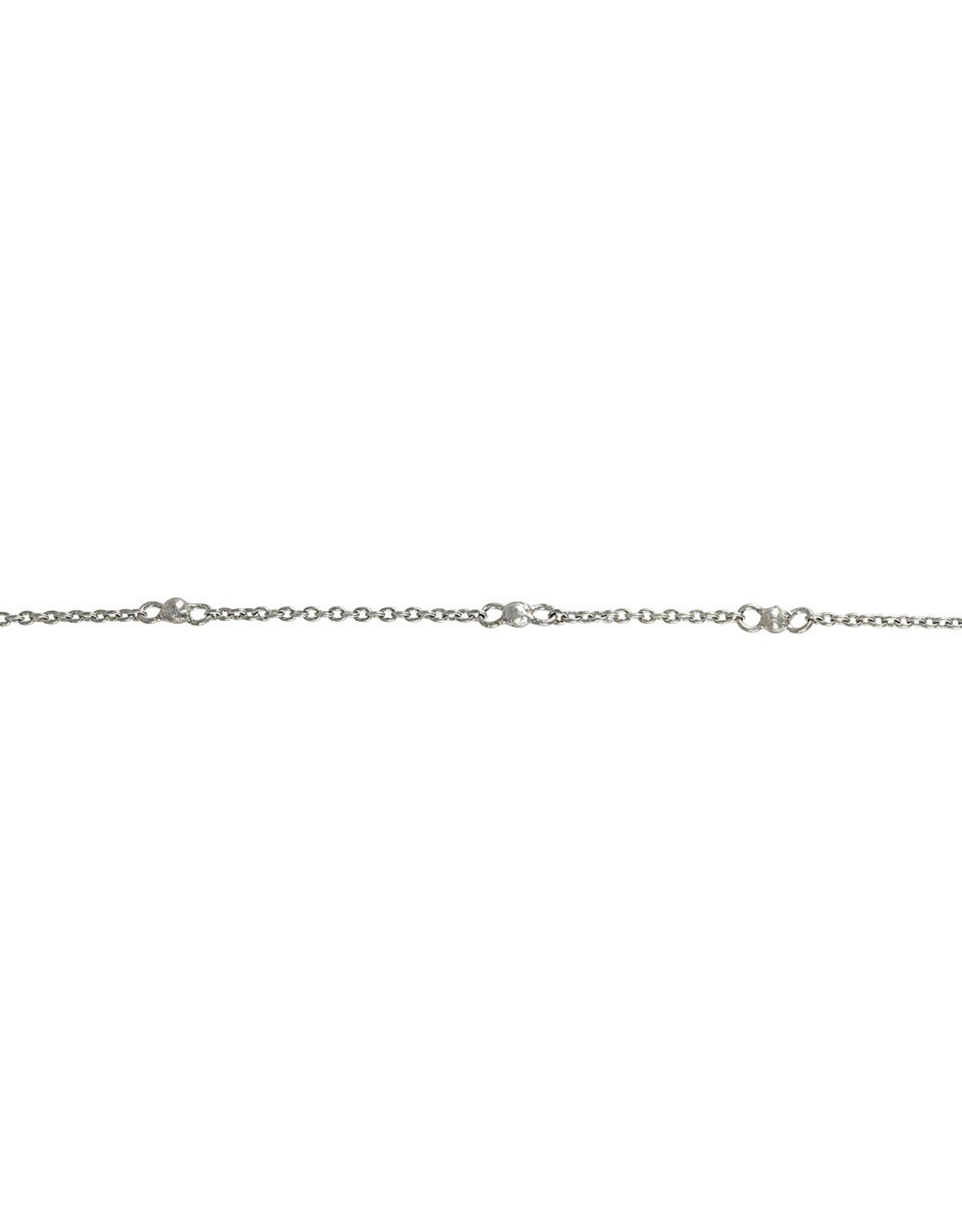 Waxing Poetic® Jewelry Around and Around Chain 18 inch-Sterling Silver