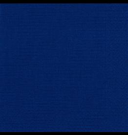 Caspari Paper Lunch Napkins 5956L Grosgrain 20pk Blue