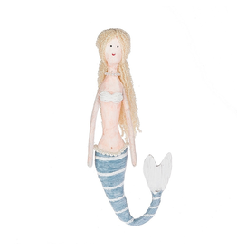 Midwest-CBK Mermaid Doll Paper-Polyester Doll Decoration 15 inch