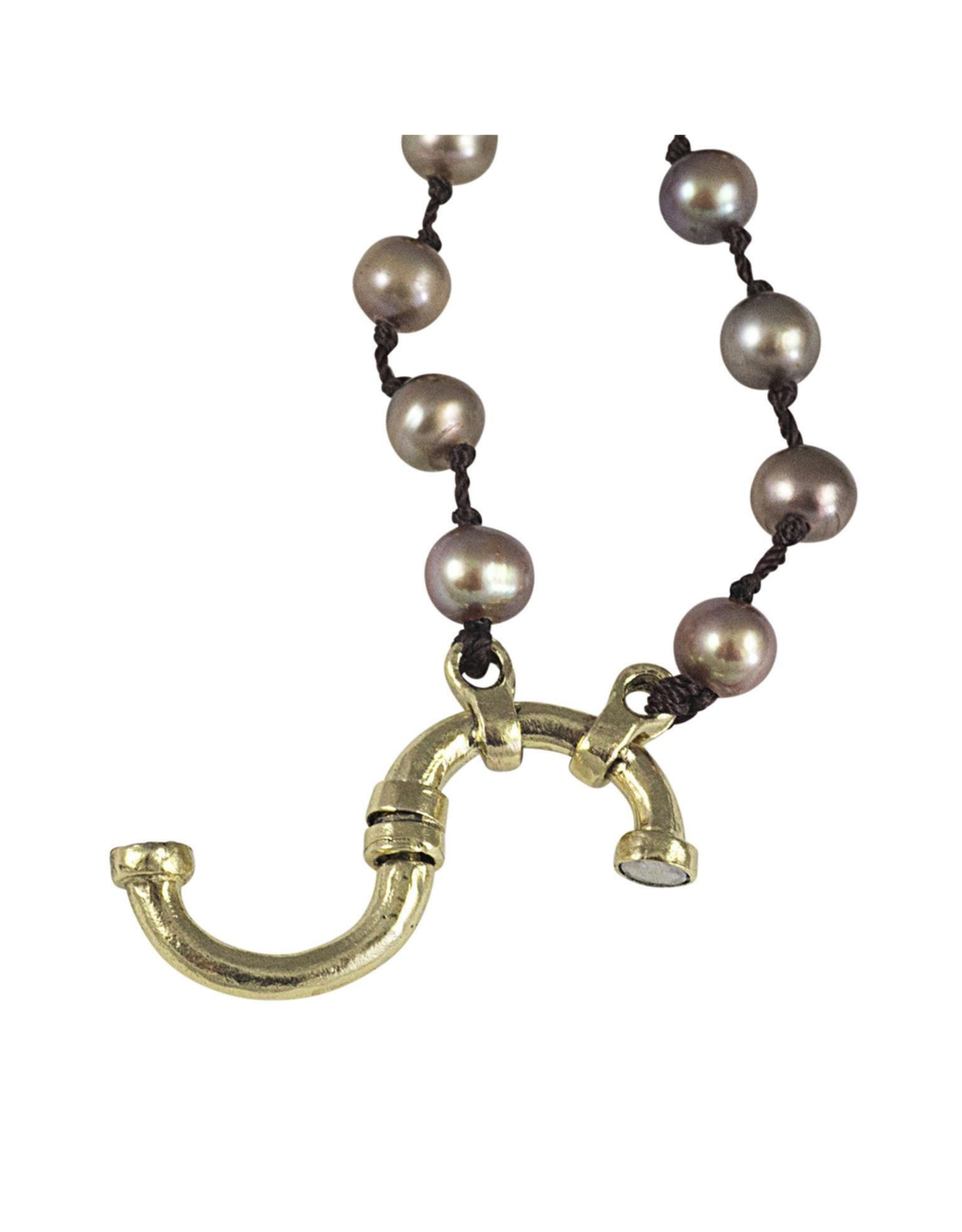 Waxing Poetic® Jewelry Boho Soul Necklace Taupe 36 inch