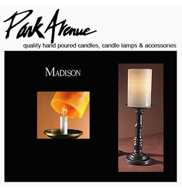 Park Avenue Candles Lamps Bases Madison 13.5H