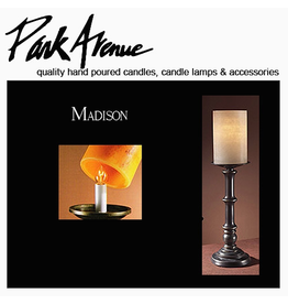Park Avenue Candles Lamp Bases Madison 15.5H