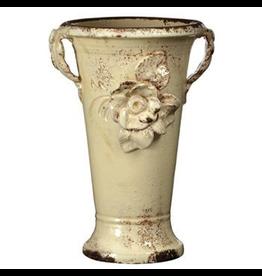Cream Trumpet Vase RGA-89002 Italian Garden Deco