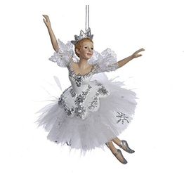Kurt Adler Snow Queen Ballerina Ornament Nutcraker Suite Ballet