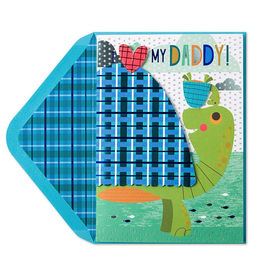 PAPYRUS® Fathers Day Card Dad And Kid Turtles