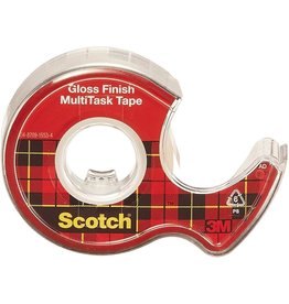 Scotch® Scotch® MultiTask Tape Roll Clear Gloss 0.75W x 650 Inches