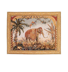 Royal Elephant Wall Tapestry 33x26 inch