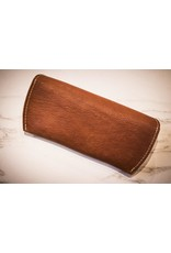 Leather Sunglass Holder In Brown