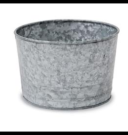 Mud Pie Mini Galvanized Tin Display Bucket 4x6 inches