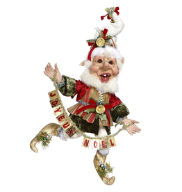 Mark Roberts Fairies Elves Christmas Joyeux Noel Elf 51-77644 MD 16in