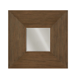 Padmas Plantation Billabong Mirror Square w Rattan Border - In Store Pick Up Only