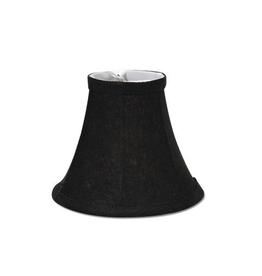 Darice Lamp Shade Clip On Light Bulb Black 5 inch Black Texture