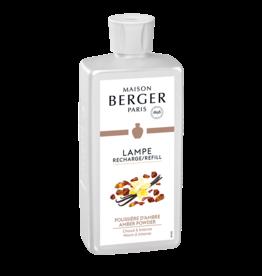 Lampe Berger Oil Liquid Fragrance 500ml Amber Powder Maison Berger